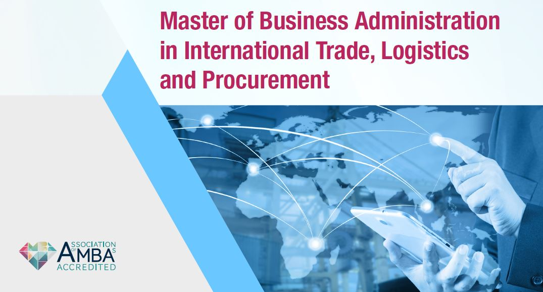 International Trade, Logistics & Procurement MBA